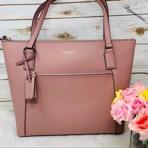 Pocket tote Kate spade Cameron dusty peony Pink